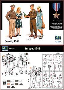 o Master Box MB3514 - Soldati americani con le loro ragazze (1945) (Scala 1/35) - Italia - L'oggetto può essere restituito - Italia