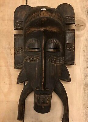 Mask African Antique Art First Ethnic Africa Primitive Head