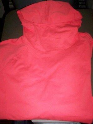 NEW LANDS END WOMENS L/S PERFORMANCE HOODIE HOODED STRETCH SWEAT SHIRT XL 18 Stretch Hoodie Sweatshirt