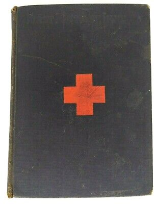 """Antique Medical Book """"Handbook of First Aid to the Injured"""" Bodwitch Morton 1st"""