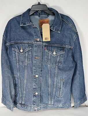 Levi's Women's Baggy Trucker Denim Jacket Size M Nwt