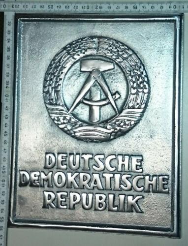 East German Border Sign Marker DDR - Plaque - NVA  - Berlin Wall  - repro -