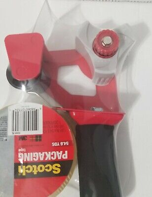 3m Scotch Tape Gun Dispenser With 1 Heavy Duty 3850 Shipping Packaging Roll