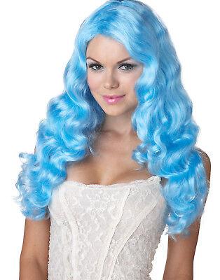 Süß Schlampe Blau Meerjungfrau Sexy Anime Puppe Damen Halloween Kostüm-zubehör