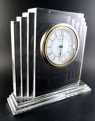 Waterford Crystal Glass Metropolitan Large Clock (LE)