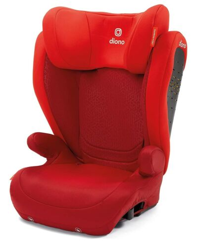 Diono Monterey 4DXT 2 in 1 Expandable Child Safety Booster Car Seat Red New