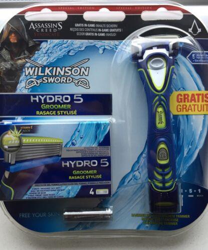 Wilkinson Hydro 5 Nassrasierer Rasierer mit Trimmer + 5 Rasierklingen