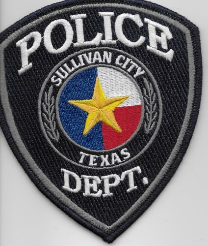 Gray Sulivan City POlice State Texas TX patch