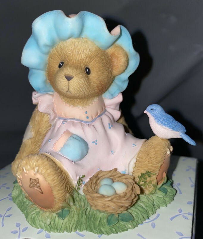 Cherished Teddies 118823 Chris A LITTLE BIRD TOLD ME YOU