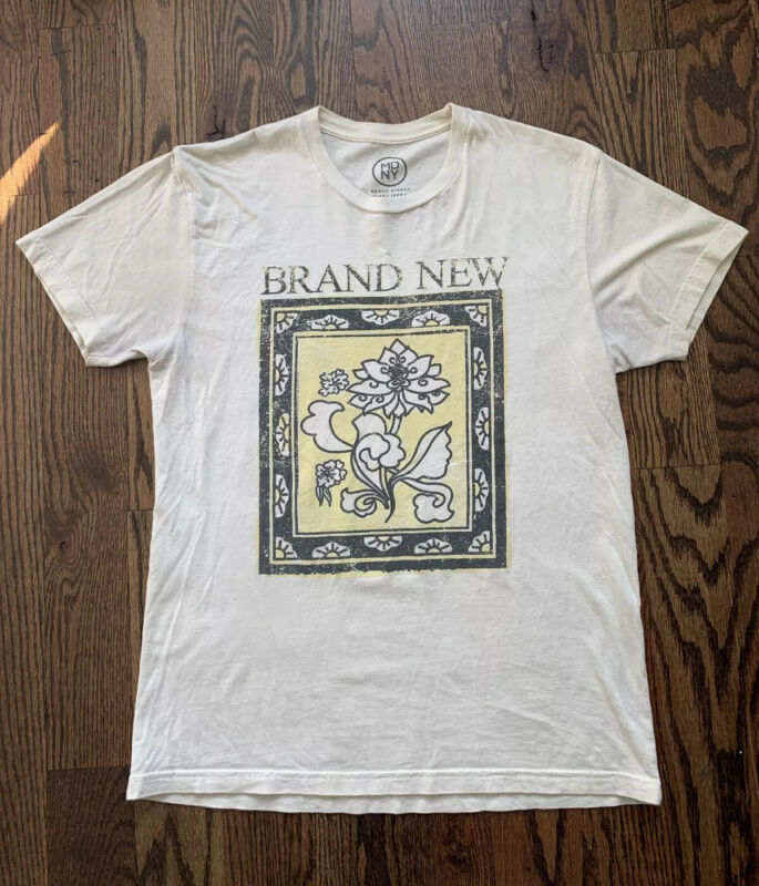 Brand New Band Tee Small T-Shirt Deja Entendu The Devil And God Jesse Lacey Emo