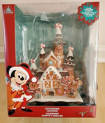 Disney Mickey and Minnie Mouse Holiday Countdown Advent Calendar Castle
