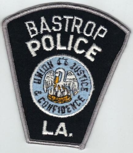 Bastrop Police (Louisiana)  Shoulder Patch - new from the 1980