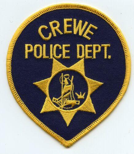 CREWE VIRGINIA VA POLICE PATCH