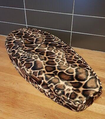 AJS Modena loose seat cover Leopard skin