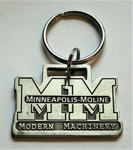Vintage Minneapolis Moline Modern Machinery Key Chain 2002 NOS Logo Series