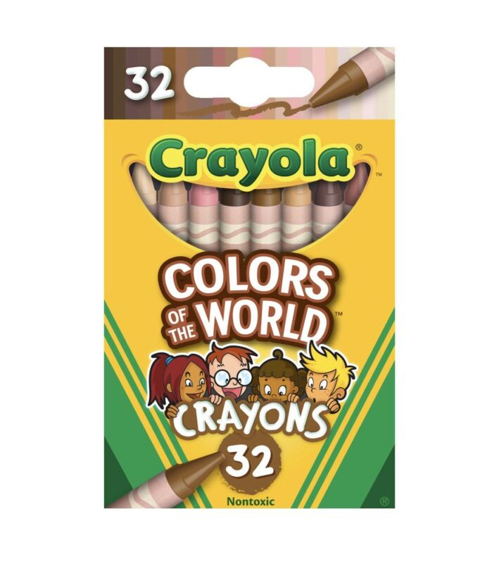 Crayola Colors of the World Crayons 32pc