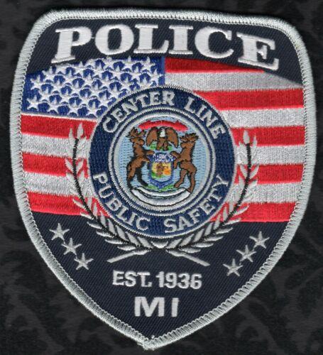 👀😜😆👍  Center Line Michigan Police Shoulder Patch
