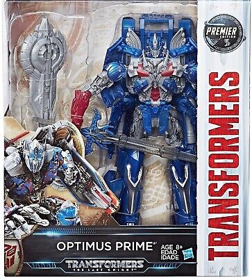Hasbro Transformer Last Knight OPTIMUS PRIME Premier Edition Leader Class Figure