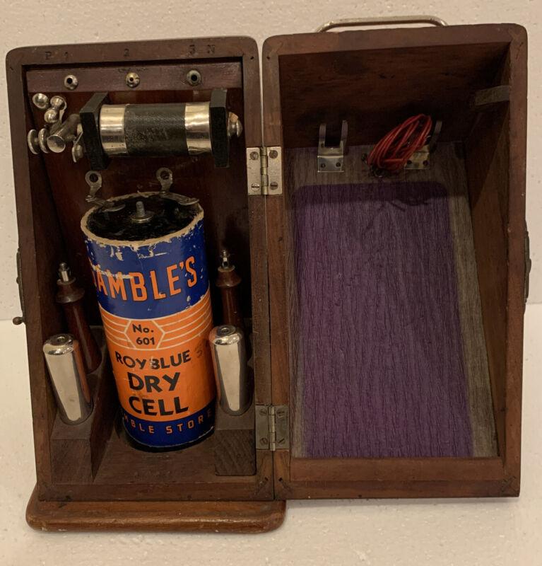 Antique Medical Quack Device Electrical Shock Apparatus