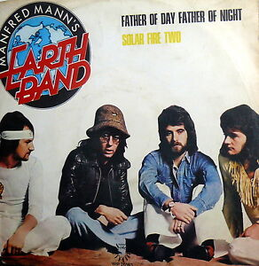 MANFRED-MANN-039-S-EARTH-BAND-7-034-FATHER-OF-DAY-FATHER-OF-NIGHT-DYLAN-PS-ITALY