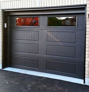 BLACK GARAGE DOORS ......... $100 OFF SALE