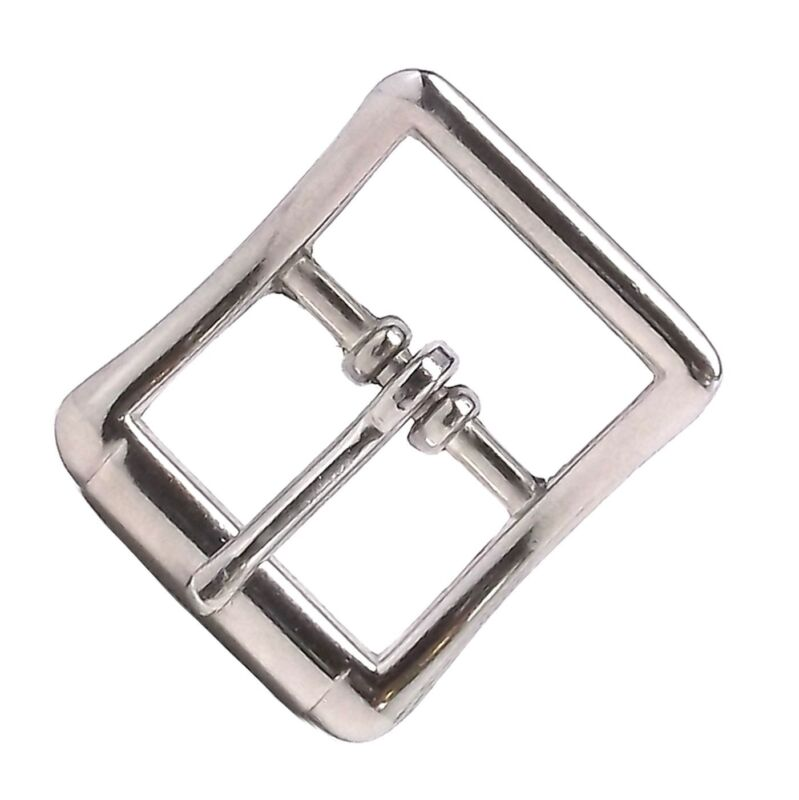 """All Purpose Strap Buckle 1/2""""  Nickel Plated 1537-00 by Stecksstore"""