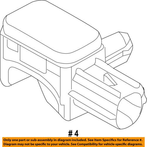 Ford Oem 11 13 Transit Connect Airbag Air Bag Srs Side Impact Sensor