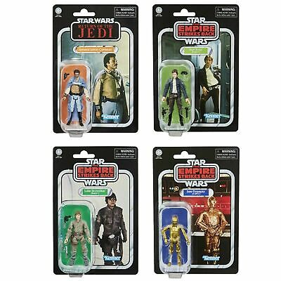 Star Wars Vintage Collection Re-Issue Wave Lando, Han, Luke & C-3PO NEW