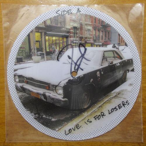 "Billie Joe Armstrong Signed Longshot 7"" Picture Disc Vinyl PROOF JSA Green Day"