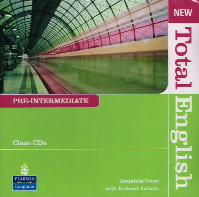 Longman NEW TOTAL ENGLISH Pre-Intermediate Class CD's | A. Crace R. Acklam @NEW@