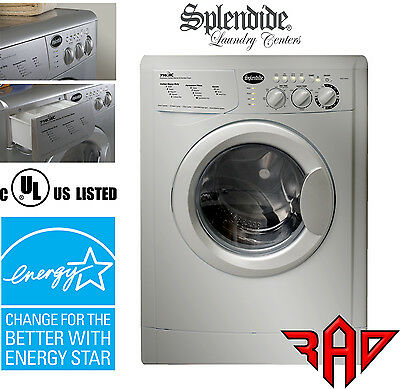RV Splendide XC, Combo Ventless Washer-Dryer, Extra Capacity WDC7100XC -Platinum