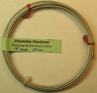 Nichrome 60 Resistance Wire 14 Awg Gauge 10 Feet