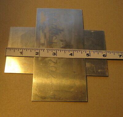 2 Pcs .032 Kaiser T Series Flat Aluminum Sheet Blank Signcraft Metal 3 X 6 20g