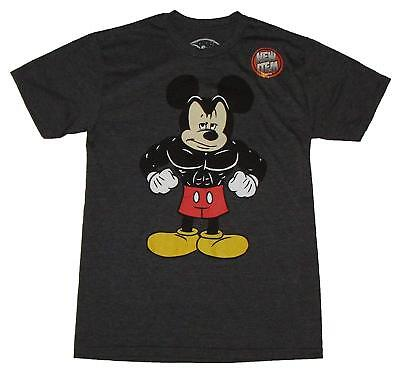 Disneyland Buff Muscle Mickey Mouse World Fun Adult Men's Graphic T-Shirt Tee](Mens Mickey Mouse Shirt)