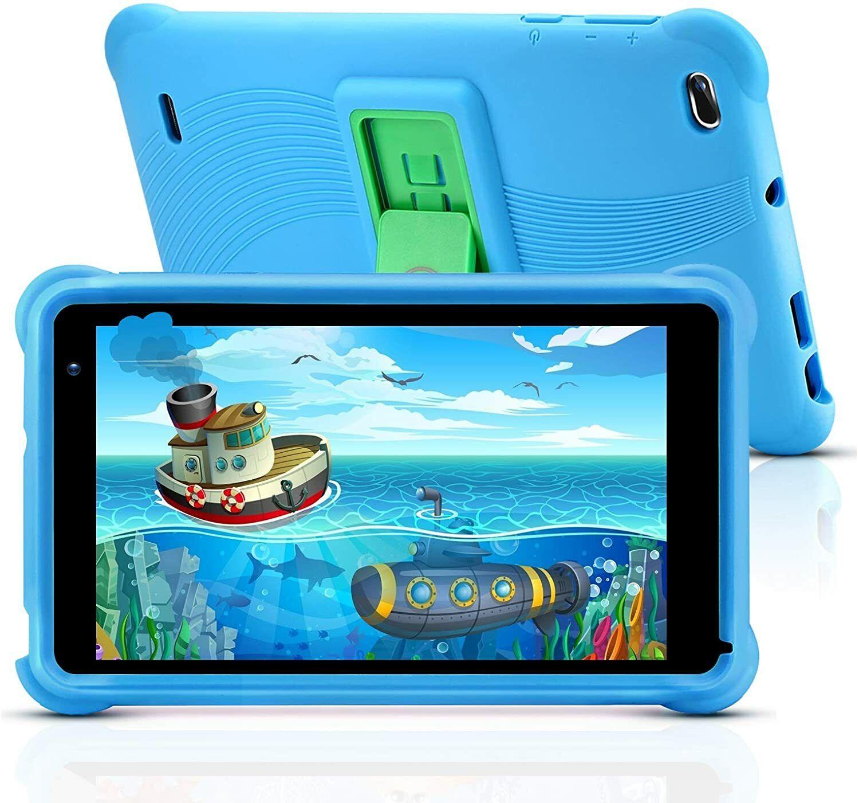 Kinder Tablet 7 Zoll, 2GB RAM, 32GB ROM, Full HD-Display, WiFi Android, Blau