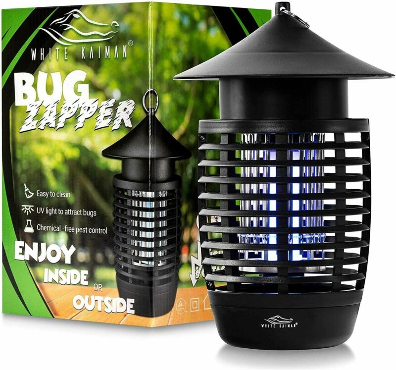 500v Water Resistant Bug Zapper Mosquito and Insect Killer  ~ Indoor & Outdoor