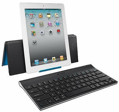 Bluetooth Tablet Keyboard for iPad, Black