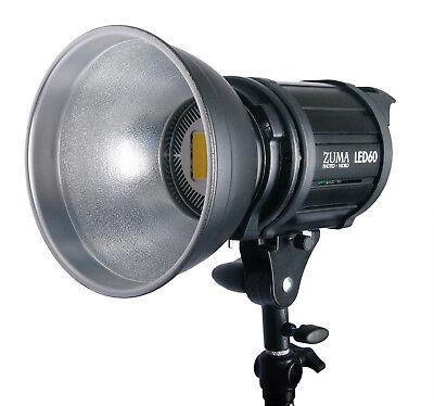LED 60 Watt Photo Studio Video Light 6000 Lumens Built-In Dimmer Flood Light