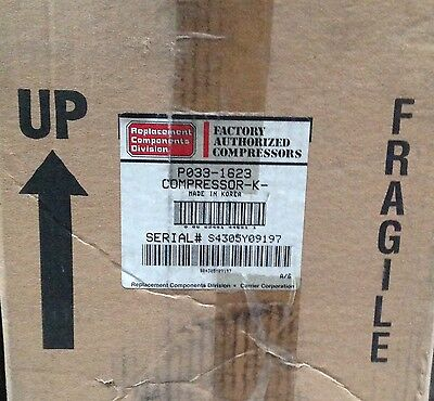 Discount Hvac Cp-p0331623 -carrier Compressor 208230v R22 1ph Free Freight