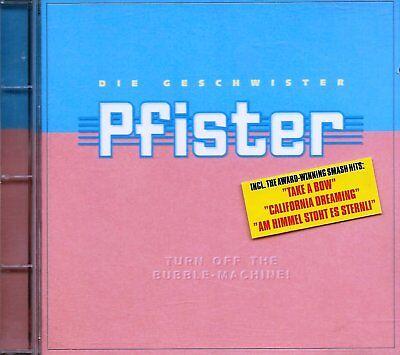 Die Bubble Machine (DIE GESCHWISTER PFISTER - Turn Off The Bubble-Machine ! (1996) - CD - Michelle,)