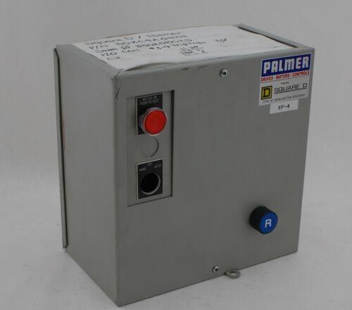 Palmer Square D S0-XC-9A-G47H Full Voltage Starter