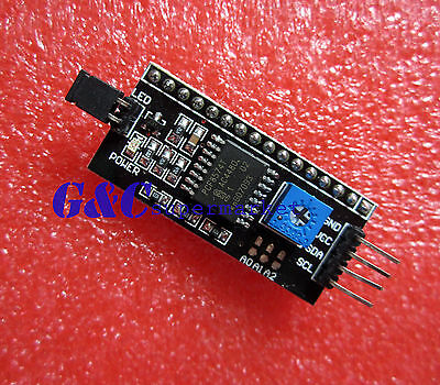 10pcs Iic I2c Serial Interface Board Module Lcd1602 Address Changeable M1