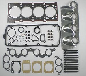 HEAD GASKET SET BOLTS FITS BMW 316i 318i E30 E36 1987-94 518i E34 1988-96 M40