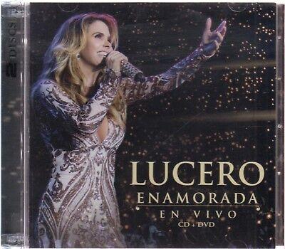 Lucero Enamorada En Vivo CD + DVD 602577080173 NOW SHIPPING!
