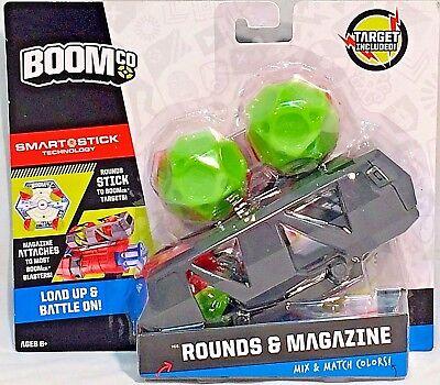 BOOMCO KID BOY CLIP 20 PC SMART STICK SOFT DART BULLET MATTEL TOY PISTOL BBR56