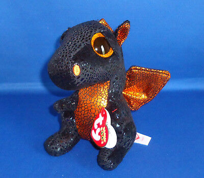 Ty Beanie Boos Merlin The Halloween Dragon 6  Mwmt Walgreens Limited Exclusive