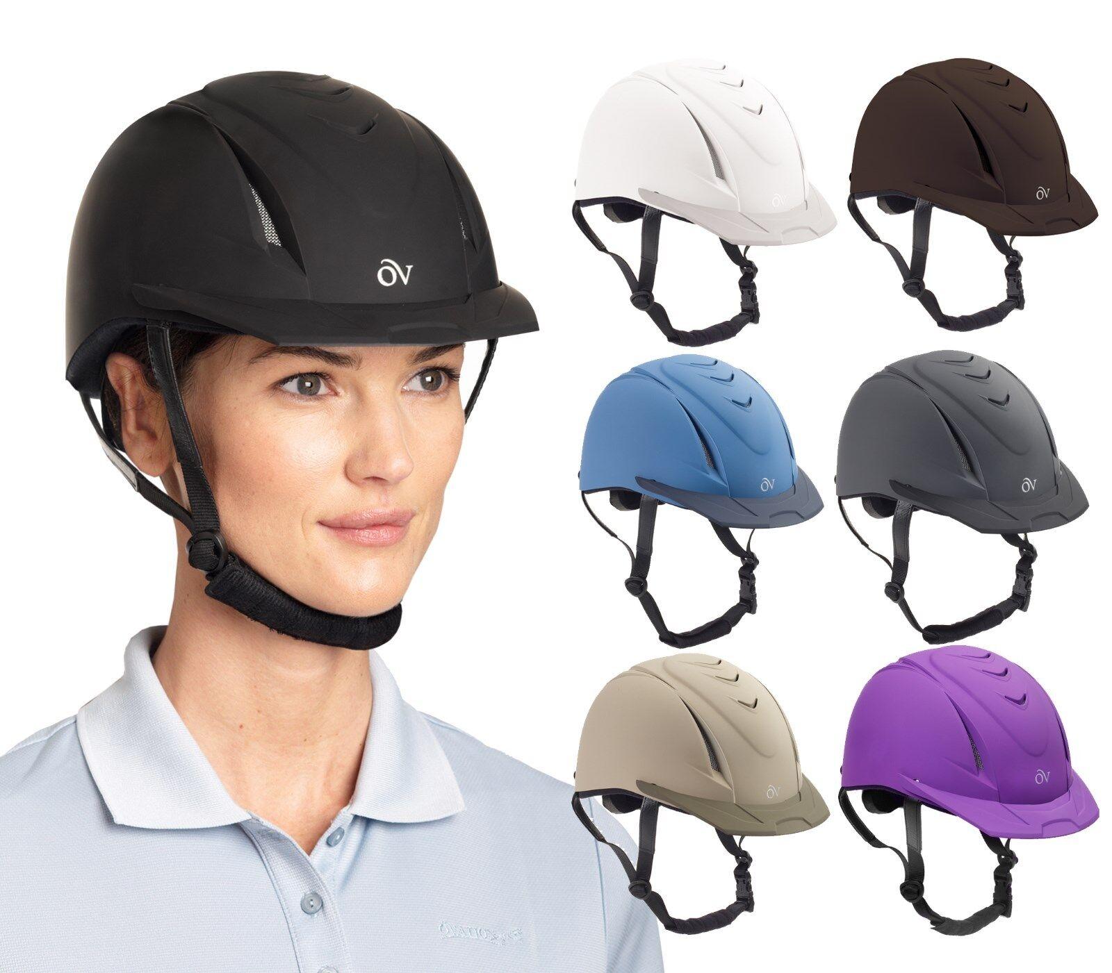 Ovation Deluxe Schooler Helmet, Various Sizes & Colors