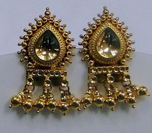 traditional-design-22k-gold-earrings-rajasthan-india ... - photo #26
