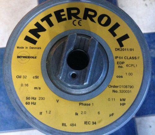 interroll 113C 484mm 1 phase