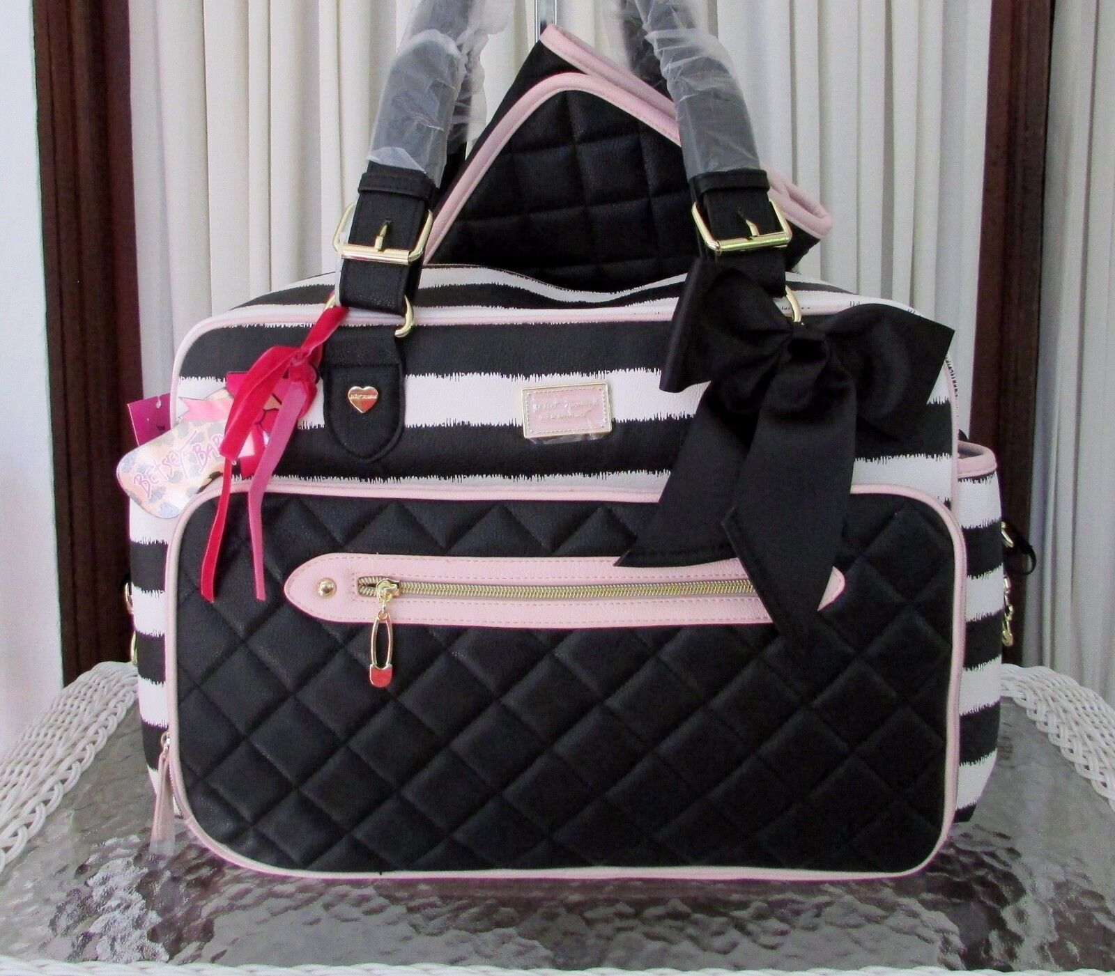 Betsey Johnson Weekender Diaper Bag